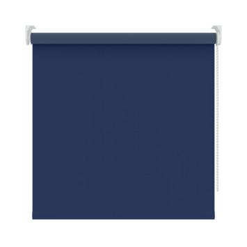 GAMMA rolgordijn uni verduisterend 5740 blauw 90x250 cm