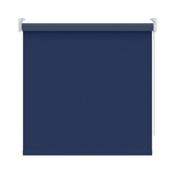 GAMMA rolgordijn uni verduisterend 5740 blauw 120x250 cm