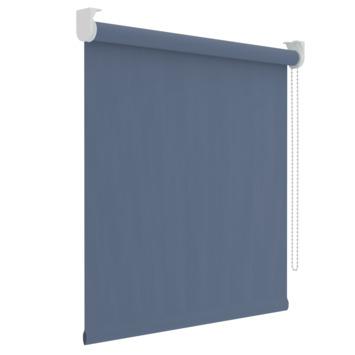 GAMMA rolgordijn uni verduisterend 5758 grijsblauw 60x190 cm