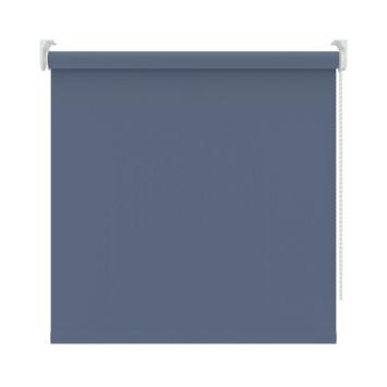 GAMMA rolgordijn uni verduisterend 5758 grijsblauw 210x190 cm