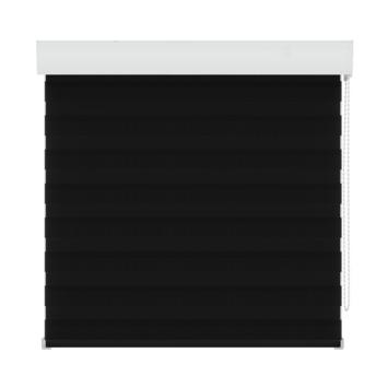 GAMMA roljaloezie lichtdoorlatend 4304 zwart 60x160 cm