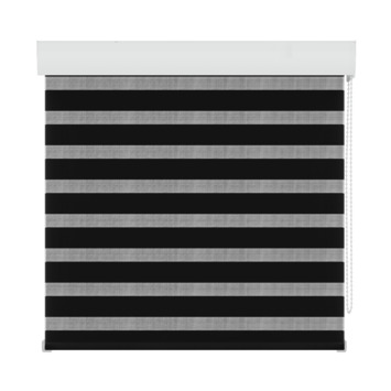 GAMMA roljaloezie lichtdoorlatend 4304 zwart 90x210 cm