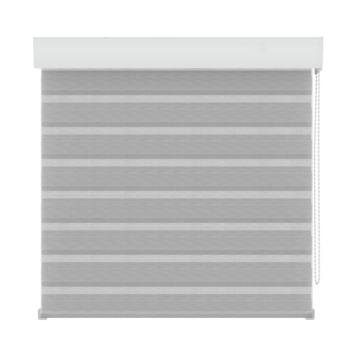 GAMMA roljaloezie lichtdoorlatend 4312 structuur wit/grijs 60x160 cm
