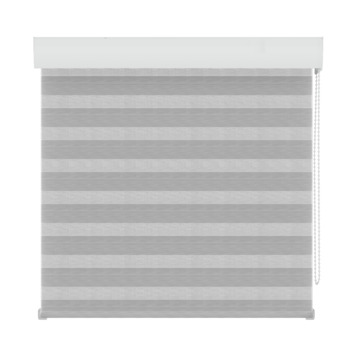 GAMMA roljaloezie lichtdoorlatend 4312 structuur wit/grijs 120x210 cm