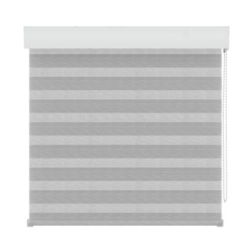 GAMMA roljaloezie lichtdoorlatend 4312 structuur wit/grijs 90x250 cm