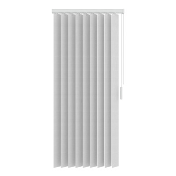 GAMMA verticale lamelset stof 89 mm 5700 wit 200x180 cm