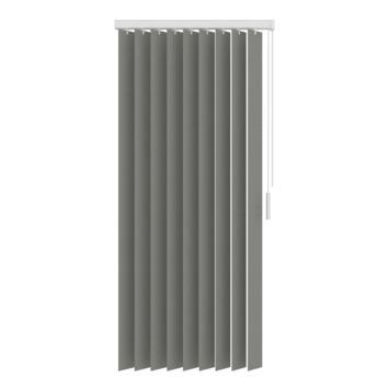 GAMMA verticale lamelset stof 89 mm 5750 grijs 150x180 cm