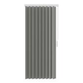 GAMMA verticale lamelset stof 89 mm 5750 grijs 200x180 cm