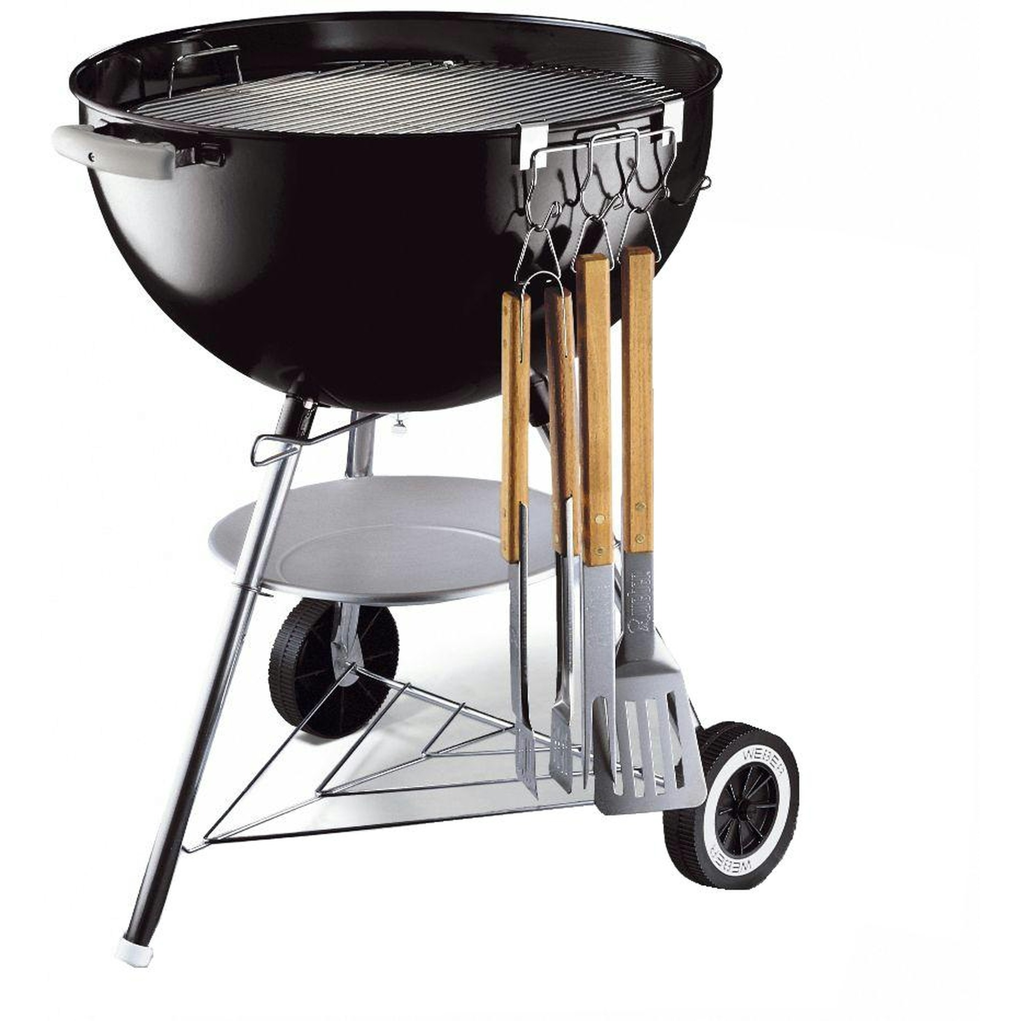 Weber gereedschaphouder t.b.v. houtskool barbecue staal