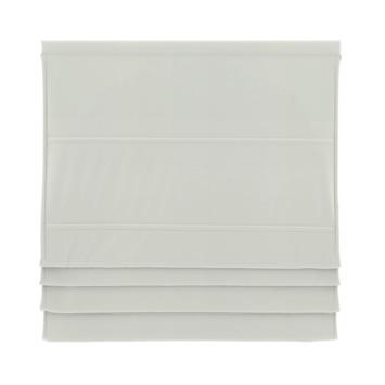 GAMMA vouwgordijn standaard met baleinen verduisterend 2203 wit 140x180 cm