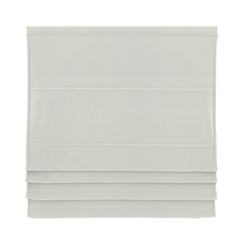 GAMMA vouwgordijn standaard met baleinen verduisterend 2203 wit 160x180 cm