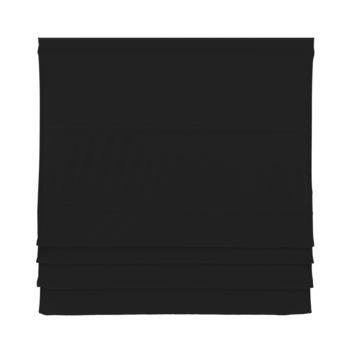 GAMMA vouwgordijn standaard met baleinen verduisterend 2250 zwart 140x180 cm