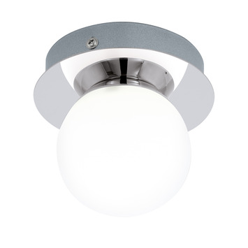 EGLO plafondlamp Mosiano chroom