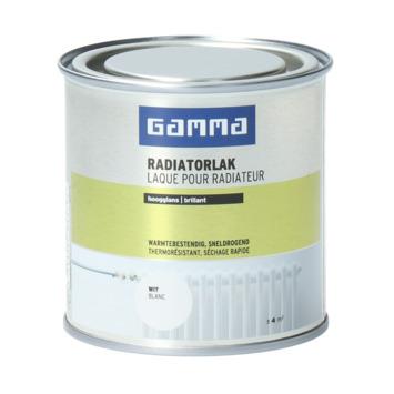GAMMA radiatorlak hoogglans wit 250ml