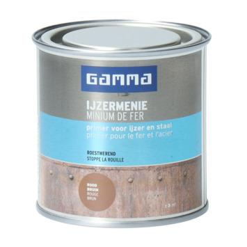 GAMMA ijzermenie 250ml rood bruin
