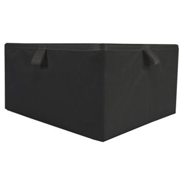Opberger Noa M 30X25X15CM zwart