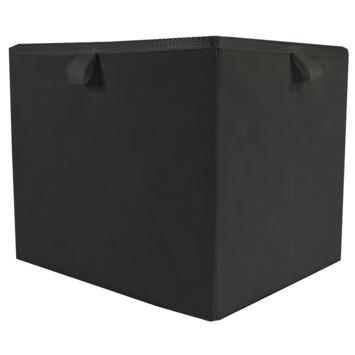 Opberger Noa L 30X25X25CM zwart