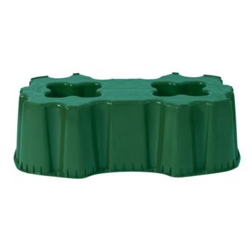 Garantia  Regenton Standaard Groen vierkant voor regenton 520 liter