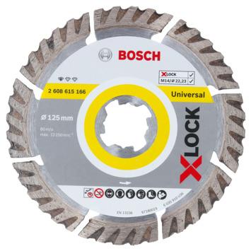 Bosch Prof X-Lock diamantschijf Prof universal 125/22,23
