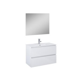 Atlantic Badmeubelset Heon Wit 80 cm met Spiegel