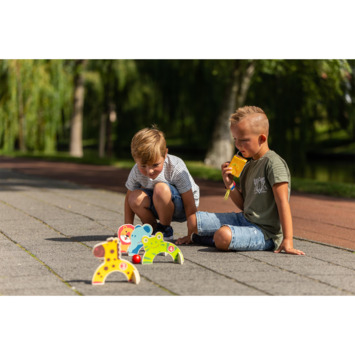 Outdoor play dieren croquet