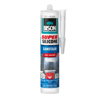 Bison siliconenkit sanitair superwit 310 ml