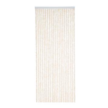 Livin' outdoor deurgordijn chenille beige 220x90 cm
