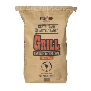 Fire Up professional houtskool grof 15KG