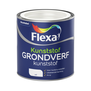 Flexa grondverf kunststof acryl wit 250 ml