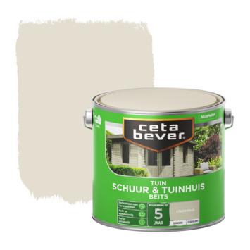 Cetabever dekkend schuur & tuinhuis beits steengrijs zijdeglans 2,5 L