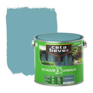 Cetabever dekkend schuur & tuinhuis beits hemelsblauw 2,5 L