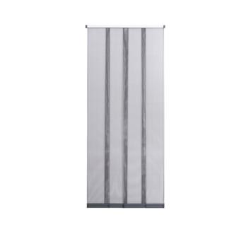 Lamellen hordeur S400 grijs 95x235 cm