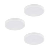 EGLO onderbouwset TAROUT 3-lichts wit