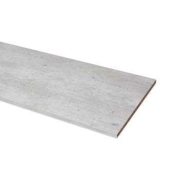 Meubelpaneel ABS 4-zijdig beton 120x40 cm 18 mm