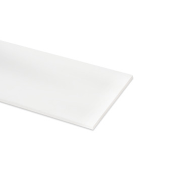 Meubelpaneel ABS 2-zijdig wit 240x30 cm 18 mm