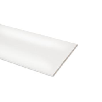 Meubelpaneel ABS 2-zijdig glans wit 240x30 cm 18 mm