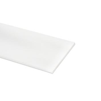 Meubelpaneel ABS 4-zijdig wit 120x30 cm 18 mm