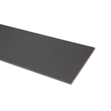 Meubelpaneel ABS 4-zijdig antraciet 120x40 cm 18 mm