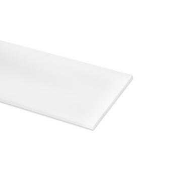 Meubelpaneel ABS 4-zijdig wit 80x30 cm 18 mm