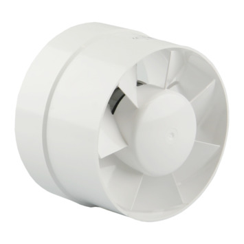 Renson buisventilator standaard 7122E Ø125 mm wit