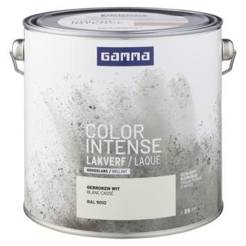 GAMMA color intense binnenlak hoogglans 2,5  L RAL 9010
