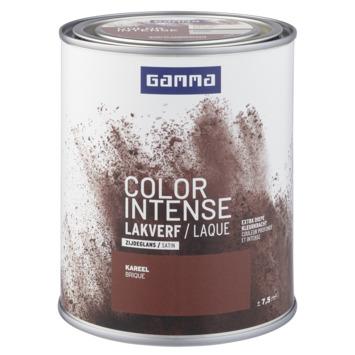 GAMMA color intense binnenlak zijdeglans 750 ml kareel