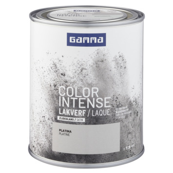 GAMMA color intense binnenlak zijdeglans 750 ml platina