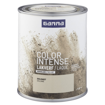 GAMMA color intense binnenlak hoogglans 750 ml dolomiet