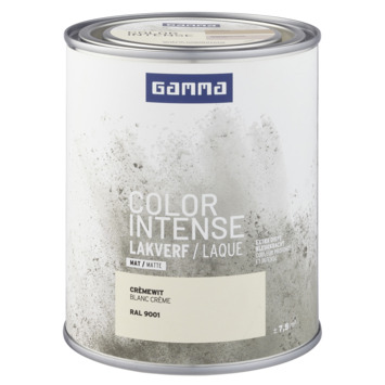 GAMMA color intense binnenlak mat 750 ml RAL 9001
