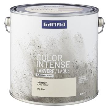 GAMMA color intense binnenlak zijdeglans 2,5 L RAL 9001