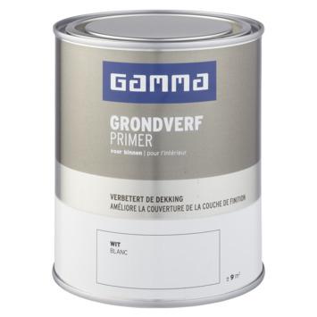 GAMMA binnenlak grondverf 750 ml wit