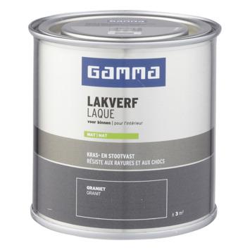 GAMMA binnenlak mat 250 ml graniet