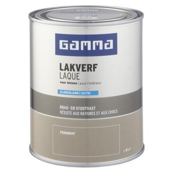 GAMMA binnenlak zijdeglans 750 ml ferment