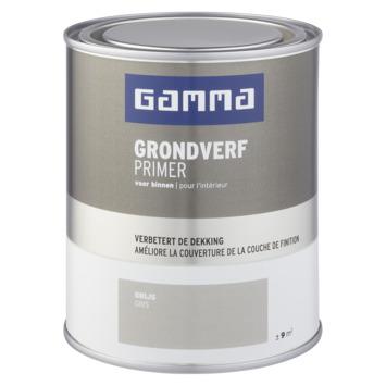 GAMMA binnenlak grondverf 750 ml grijs